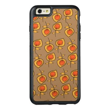 Fall Leaves Pattern OtterBox iPhone 6/6s Plus Case