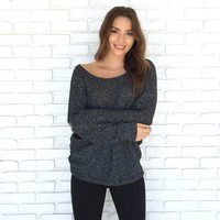 Shriver Knit Speckle Sweater