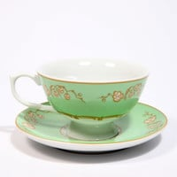 Urban Outfitters - Regency Mint Teacup