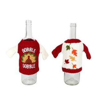 Fall Knit Bottle Cover (2 Styles Available)