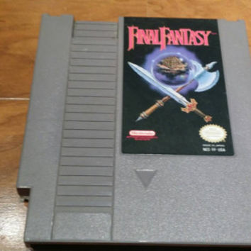 Final Fantasy - Nintendo nes system console game - 1 RPG - FREE SHIPPING