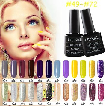 1 Dollar 132 Colors LED Nai Gel Nail Long-lasting Soak-off Gel Varnishes Beauty Gel Lacquer UV Lamp or LED Lamp Nail Varnish