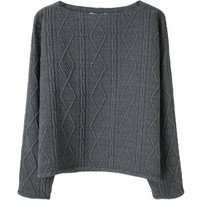 Opening Ceremony Boatneck Pullover