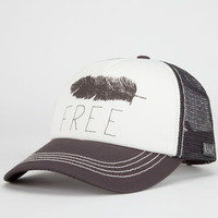 Billabong All We Do Womens Trucker Hat Charcoal One Size For Women 22781811001
