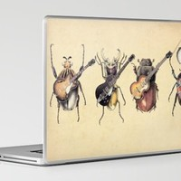 Meet the Beetles Laptop & iPad Skin by Eric Fan | Society6
