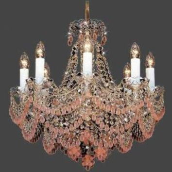 Victorian trading Co. - www.victoriantradingco.com - Ice Wine Chandelier