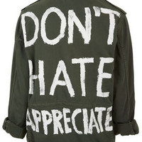 'Don't Hate Appreciate' Jacket - New In This Week  - New In