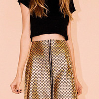 Mermaid Disco Skirt