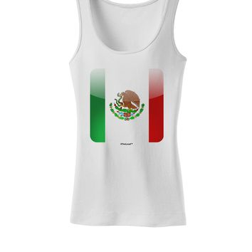 Mexican Flag App Icon Womens Tank Top by TooLoud