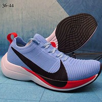 NIKE ZOOM VAPORFLY ELITE woven fly line big hook trend wild sports shoes F-A36H-MY blue