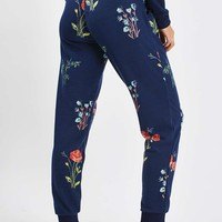 Poppy Print Lounegwear Jogger - New In This Week - New In