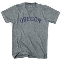 Oregon City Vintage V-neck T-shirt