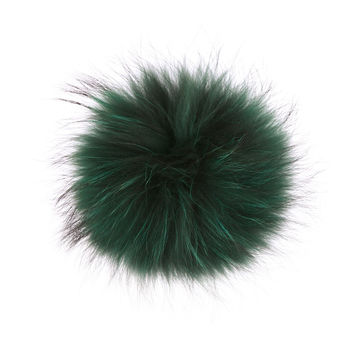 Hat Replacement Pom Pom - Emerald Green