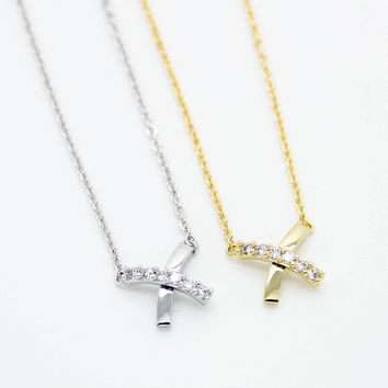 X stones necklace