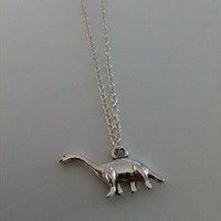 Dinosaur Necklace  from HuckleberryBoutique