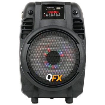 "Qfx 6.5"" Portable Bluetooth Party Pa Speaker"