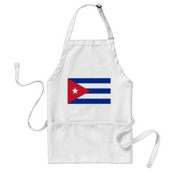 Apron with Flag of Cuba