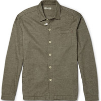 Oliver Spencer Loungewear - Cotton-Flannel Overshirt | MR PORTER