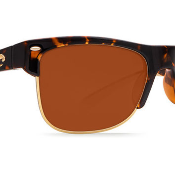 Pawley's Tortoise Shell Sunglasses with Copper 580P Lenses by Costa Del Mar