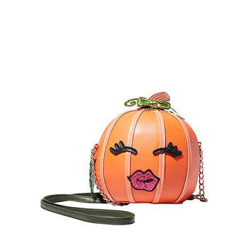 KITSCH BETS-O-LANTERN CROSSBODY: Betsey Johnson