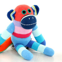 T3  Child Friendly  Plush  monkey  Eco friendly   textile toy  stuffed animal  stuffed animal  Dolls and Miniatures  Summer   gift  2#