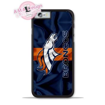 Denver Broncos Football Flag Phone Cover Case For Apple iPhone X 8 7 6 6s Plus 5 5s SE 5c 4 4s For iPod Touch