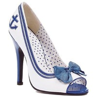 "Ellie Shoes Women`s 511-ANCHOR 5"" Pump with Anchor: Shoes"