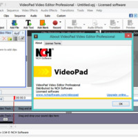 VideoPad Video Editor 4.44 Crack Registration Code