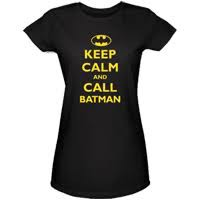 Batman T-Shirts - Call Batman Girls Super Hero T-Shirt