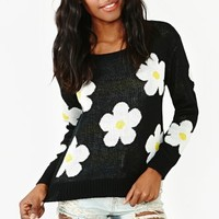 Sundown Daisy Knit