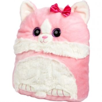 Sparkly Eye Square Cat Pillow | Girls Stuffed Animals Room, Tech & Toys | Shop Justice