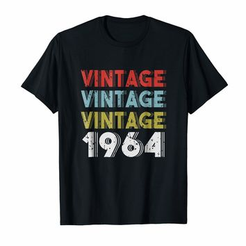 Retro Vintage Born In 1964 - 54th Birthday Gift