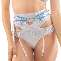 Final Fantasy Garter Belt in Hologram