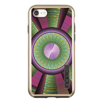Round And Colorful Modern Decorative Fractal Art Incipio DualPro Shine iPhone 7 Case