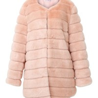 Luxe Glam Faux Mink Fur Coat [AS SEEN ON CHIARA] Discover the latest fashion trends online at storets.com