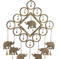 Elephant Wind chime Elite Metal