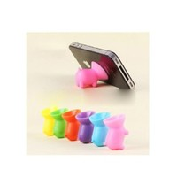 HuntGold Universal Pig Cuction Cup Cell Phone Holder for iPhone 4 5S Galaxy S4 Nokia HTC(random color)