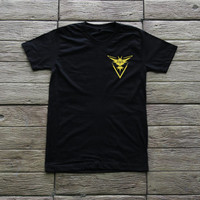 Pokemon Go Shirt Team Instinct Shirt T Shirt TShirt