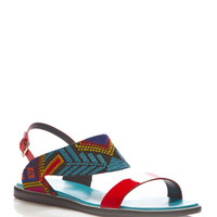 Mexican Patent Leather and Embroidered Sandals by Nicholas Kirkwood - Moda Operandi