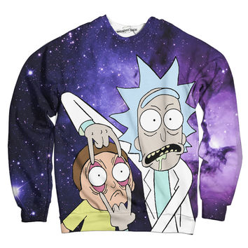 The Rick And Morty Intergalactic Sweatshirt
