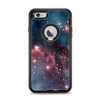 The Bright Pink Nebula Space Apple iPhone 6 Plus Otterbox Defender Case Skin Set