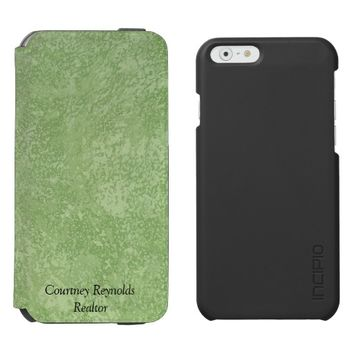 Marmorino Stucco Incipio iPhone 6 Wallet Case