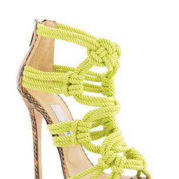 Lora Knotted Sandals