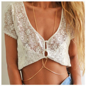 One body chain necklace chain