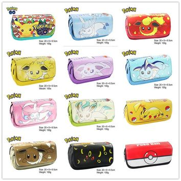 New Arrival Comic Marve Doctor Who Pokemon Pencil Pen Case Cosmetic Makeup Coin Pouch Zipper Bag Purse Dollar Price