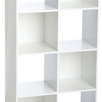 Cubeicals 8 Cube Cubical Storage Display Organizer, White