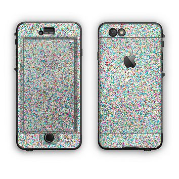 The Colorful Small Sprinkles Apple iPhone 6 Plus LifeProof Nuud Case Skin Set