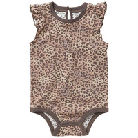 Koala Baby Girls Flutter Sleeve Bodysuit