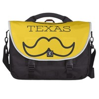 Texas in Yellow 2 Commuter Bags