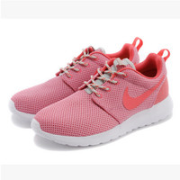 NIKE Women Men Running Sport Casual Shoes Sneakers Peach powder